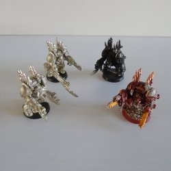 Games Workshop Warhammer, 4 Clunky Shooting Monsters, Lot 3
