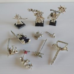Games Workshop Warhammer, Metal Weapons & Body Parts, Lot 2