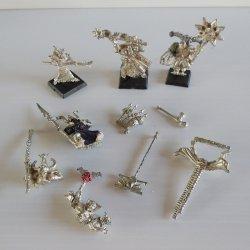 Games Workshop Warhammer, Metal Weapons & Body Parts, Lot 2