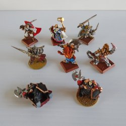 Games Workshop Warhammer Metal Warriors, Painted, Lot 1