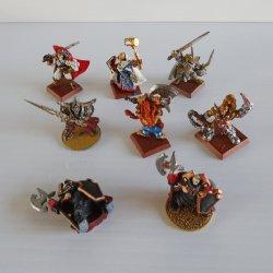 Games Workshop Warhammer Metal Warriors, Painted, Lot 1