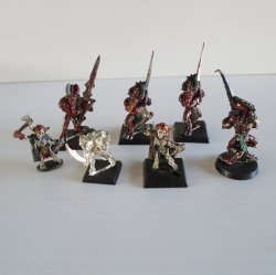 Games Workshop Warhammer Fighting Ghouls Monsters, 7 pcs