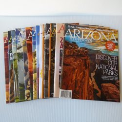Arizona Highways Magazine, 14 Back Issues, 2016 - 2017