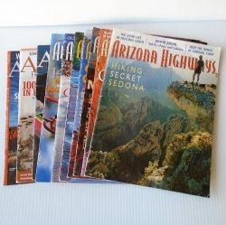 Arizona Highways Magazine, 10 Back Issues, 2000 - 2015