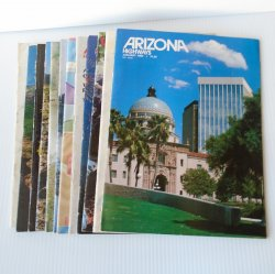 Arizona Highways Magazines, 12 Back Issues, 1980 - 1988
