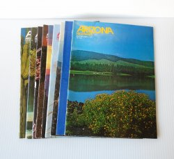 Arizona Highways Magazines, 9 Back Issues, 1978 - 1979