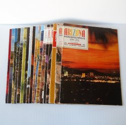 Arizona Highways Magazine, 18 Back Issues, 1970 - 1973