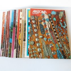 Arizona Highways Magazine, 14 Back Issues, 1975 - 2000
