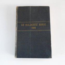 Bluejackets Manual, U.S. Navy, Dated 1944, WWII Era