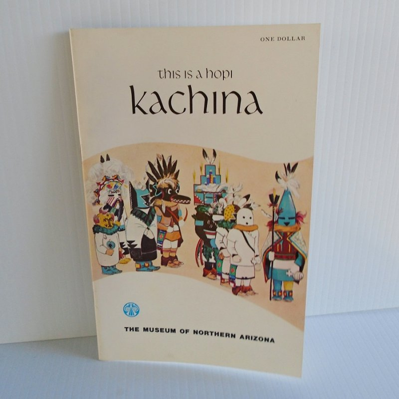 History and many photos of Hopi Kachina dolls. Written by Barton Wright and Evelyn Roat, published by Museum of Northern Arizona. c1965.