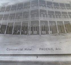 '.Commercial Hotel, Phoenix AZ.'