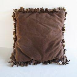 '.Cowboy theme throw pillow.'