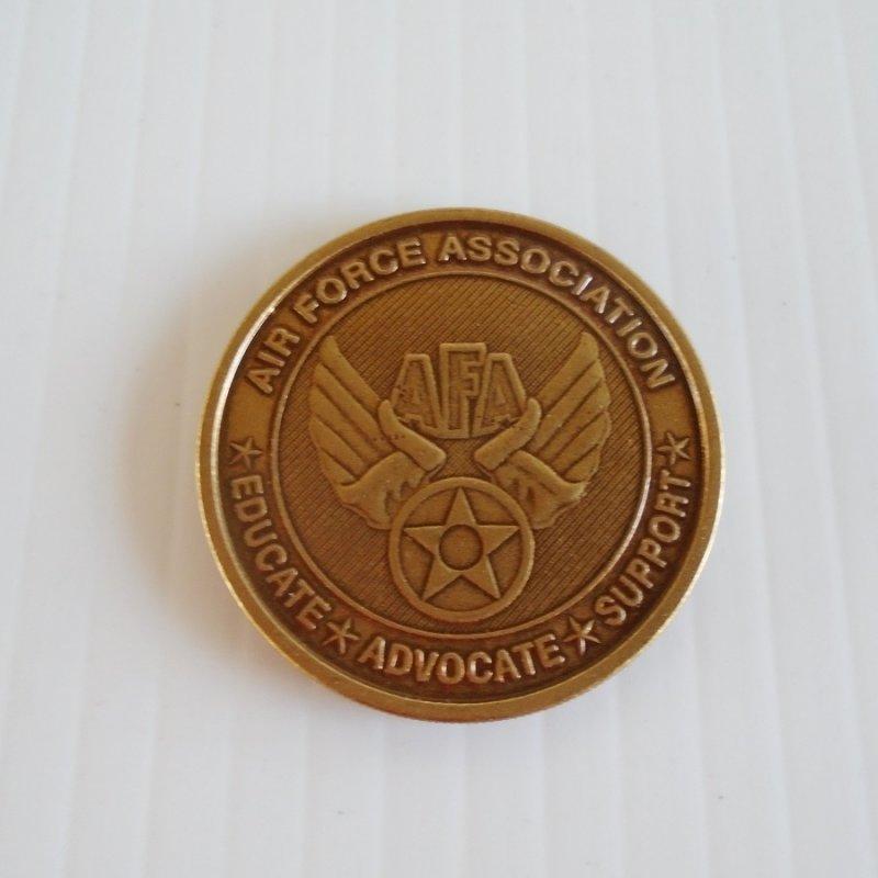 Air Force Association AFA B-2 Stealth Bomber Bronze Challenge Token Coin