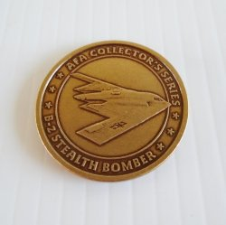 AFA Air Force Association B-2 Stealth Challenge Token Coin