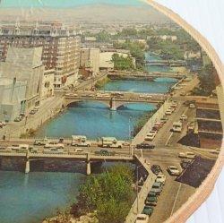 '.1960s Aerial Reno NV plaque.'