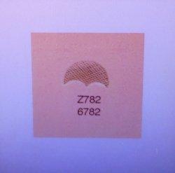 Tandy Leather Craftool Z782 Alphabet Beveler Stamp 6782-00