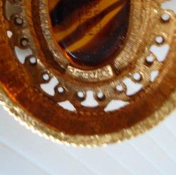 '.Florenza mid century brooch.'