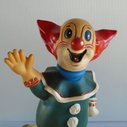 '.Bozo the Clown Vintage Lamp.'