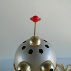 '.Alien Man Robot Table Lamp.'