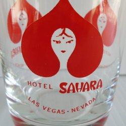 '.Saraha Casino Las Vegas glass.'