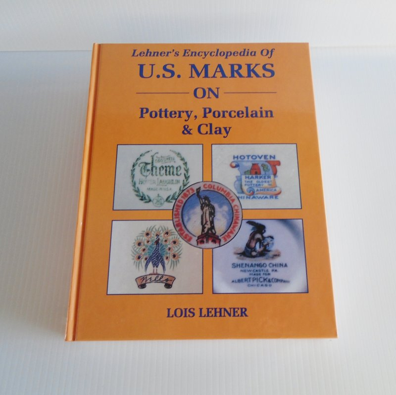 Lehner's Encyclopedia of U.S. Marks on Pottery Porcelain and Clay. Lois Lehner. 634 pages, over 8000 marks, logos, and symbols for over 1900 companies