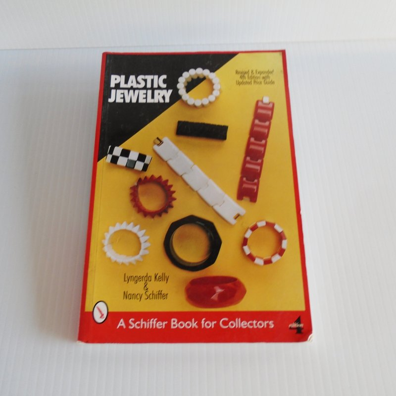 Plastic Jewelry, a book for collectors. Over 1000 examples of plastic jewelry for the vintage and costume jewelry collector.