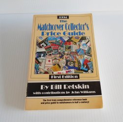 Matchbook Matchcover Collector's History and Price Guide