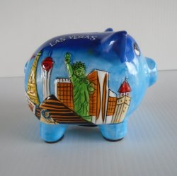 '.Las Vegas Piggy Bank.'