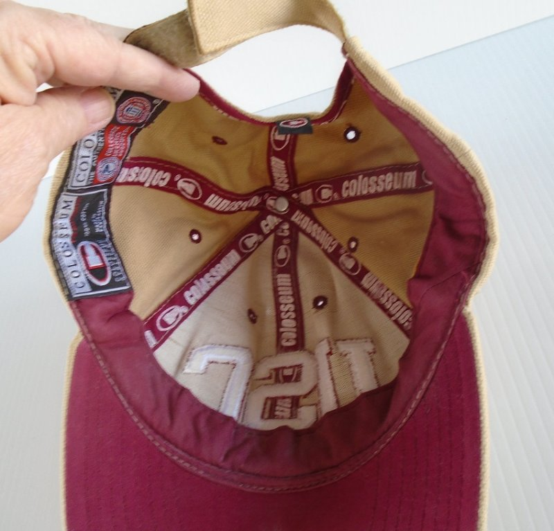 USC University of Southern California Trojans baseball type cap. About 10 years old but in near new condition.
