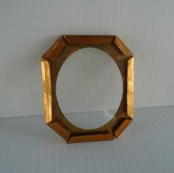 '.Antique Copper Picture Frame.'