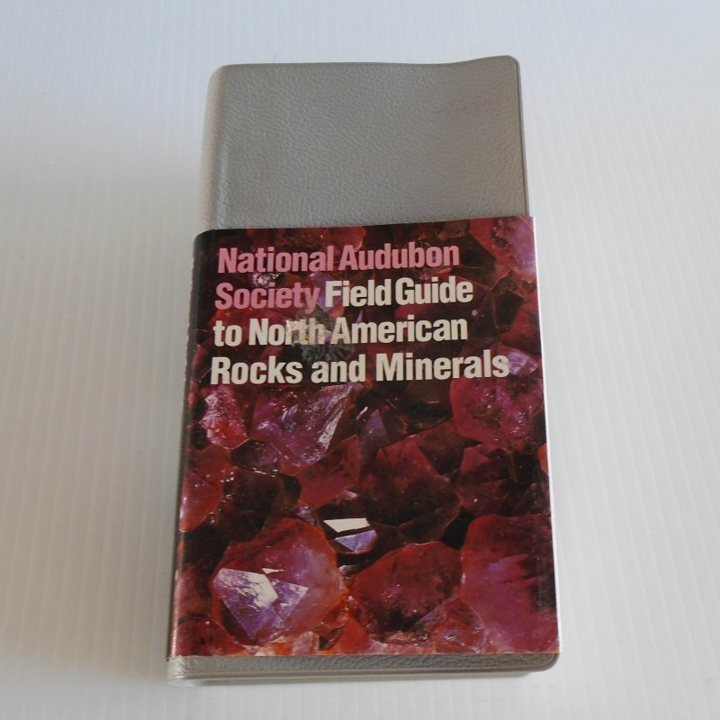 National Audubon Society Field Guide to North American Rocks and Minerals. 850 pages, almost 800 full color photographs.