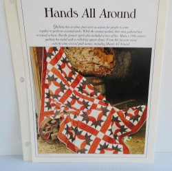 '.Hands All Around Quilt Pattern.'
