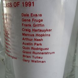 '.USC Trojan 1991 Beer Mug.'
