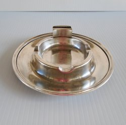 International Silver Co Silver Soldered Ashtray SF0320 c1958
