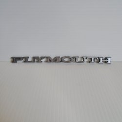 Plymouth 1968-74 Nameplate 3749326 Duster Road Runner Fury