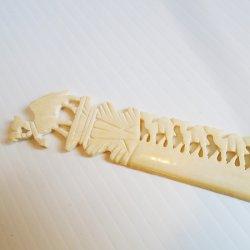 '.Carved Camel Letter Opener.'