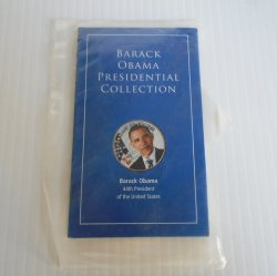 Barack Obama Presidential Coin, 50 cent Kennedy Half Dollar