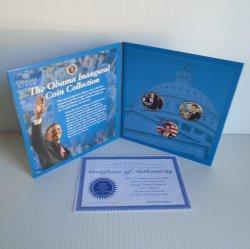 '.Obama Inaugural coin set.'