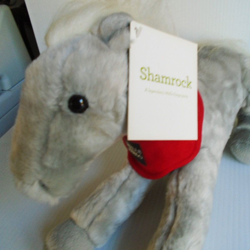 Legendary Wells Fargo horse pony Shamrock. Tag dated 2013. From the officially licensed Wells Fargo pony collection.