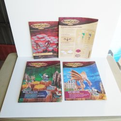 Heroscape Game Guides, Rules Booklet, Instruction Manual