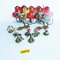 '.Heroscape figurines, 9 pcs.'