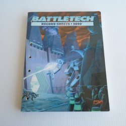 Battletech record sheets 3050 w/ weapon & equip reference