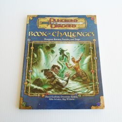 Dungeons & Dragons Book Of Challenges, Rooms Puzzles Traps