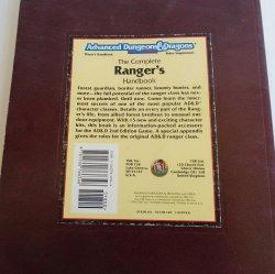 '.Dungeons Dragons Ranger's Hdbk.'