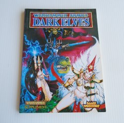 Warhammer Armies Dark Elves Supplement, Games Workshop