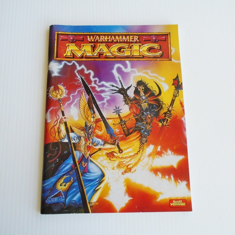 Warhammer Magic supplement book from Games Workshop. Spells, spellcasting, magic items, etc. Pre-owned