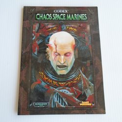 Warhammer 40,000 Codex Chaos Space Marines Supplement Book