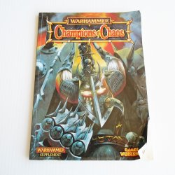 Warhammer Champions of Chaos Supplement Book