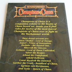 '.Warhammer Champs Chaos.'