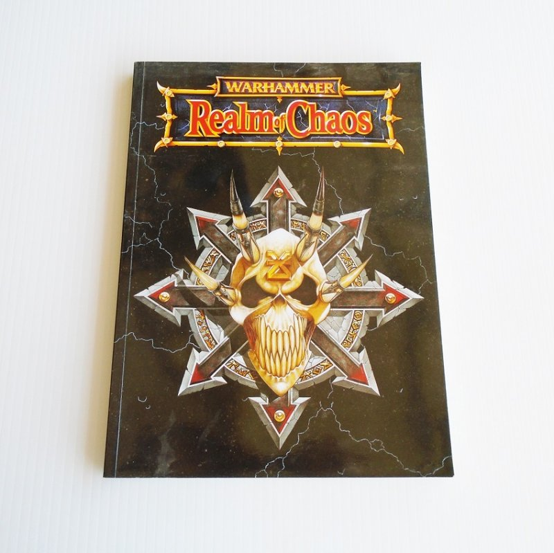 Warhammer Realm of Chaos supplement book from Games Workshop. Pre-owned.